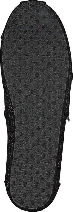 Toms - Alpargata Youth Black Iridescent Glimmer
