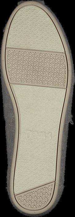 Toms - Alpargata Drizzle Grey Slub Chambray