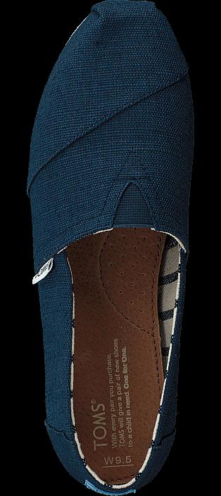 Toms - Alpargata Majolica Blue Heritage Canvas