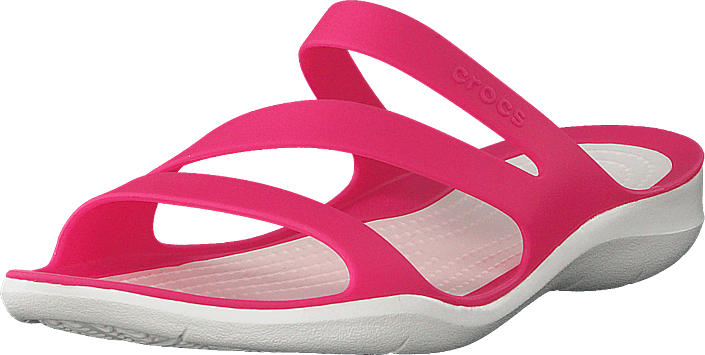 Crocs - Swiftwater Sandal W Paradise Pink/white