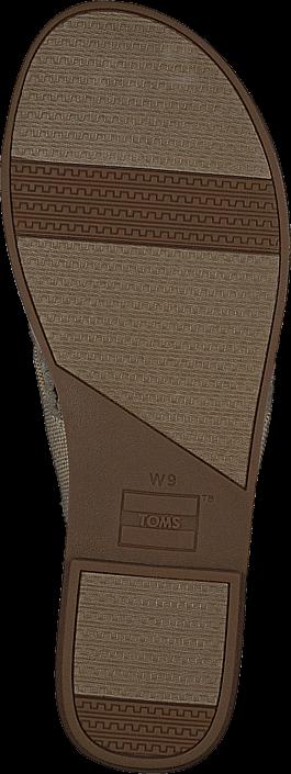 Toms - Viv Natural Metallic Jute