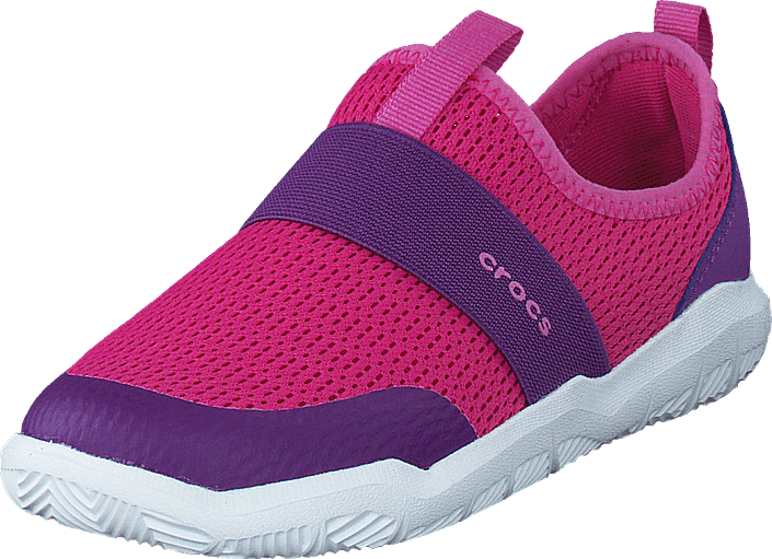 Crocs - Swiftwater Easy-on Shoe K Candy Pink/amethyst
