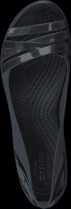 Crocs - Isabella Jelly Ii Flat W Black/black
