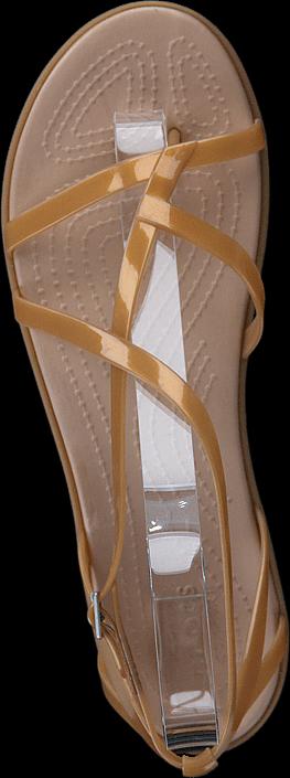 Crocs Isabella Gladiator Sandal W Dark Gold/gold