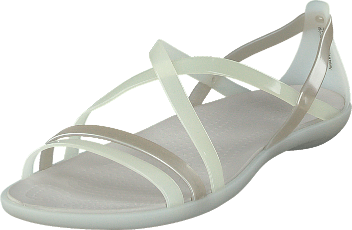 Crocs Isabella Strappy Sandal Oyster/pearl White
