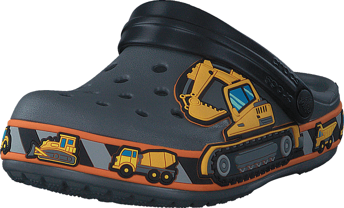 Footway SE - Crocs Cb Fun Lab Graphic Clg K Slate Grey, Skor, Sandaler & Tofflor, Foppatofflo 287.00
