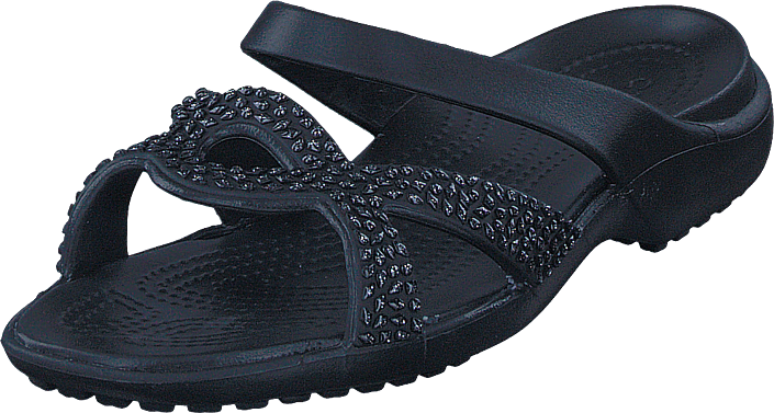 Crocs Meleen Twist Diamante Sandal Black/black