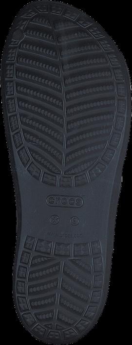Crocs Sloane Hammered Xstrp Slide W Black/rose Gold