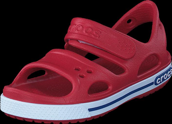 Crocs - Crocband Ii Sandal Ps Pepper/blue Jean