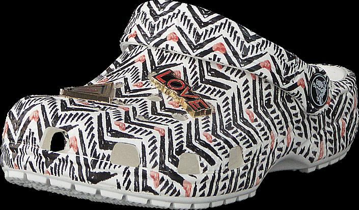 Footway SE - Crocs Drew Classic Clog Tribal Chevron, Skor, Sandaler & Tofflor, Foppatofflor,  297.00