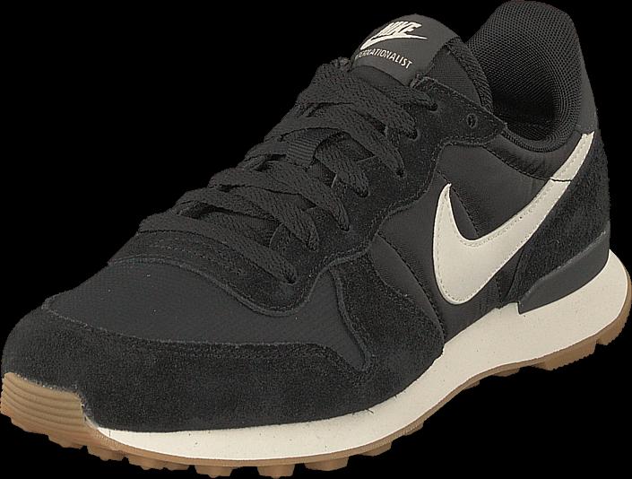 Nike - Wmns Internationalist Black/white-anthracite-sail