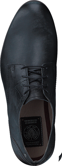 Sneaky Steve Dirty Low Black Leather
