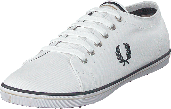Fred Perry - Kingston Twill White / Navy / Natural