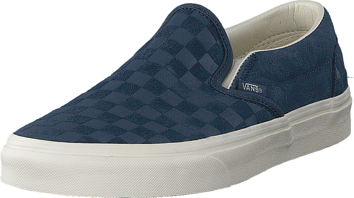 Vans - Ua Classic Slip-on Checker Indigo/marshmallow