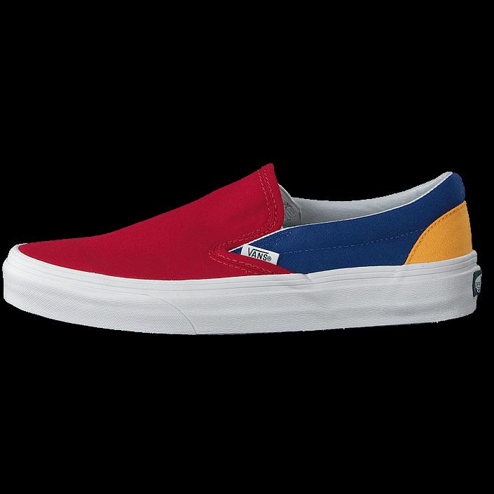 Buy Vans Ua Classic Slip-on Yacht Club Red/blue/yellow