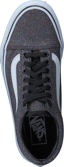 Vans Ua Old Skool Glitter Rainbow Black