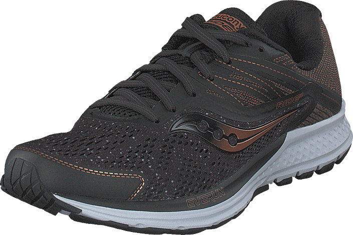 Saucony Ride 10 Black/denim/copper, Sko, Sneakers & Sportsko, Løpesko, Grå, Herre, 42