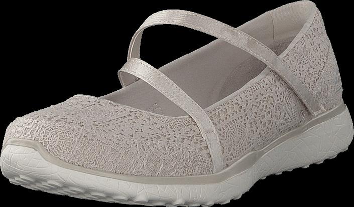 Footway SE - Skechers Microburst Nat, Skor, Lågskor, Maryjanes, Brun, Beige, Dam, 36 847.00