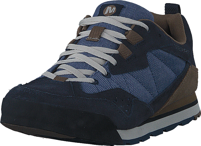 Merrell - Burnt Rock Tura Denim Low Kangaroo/denim Blue