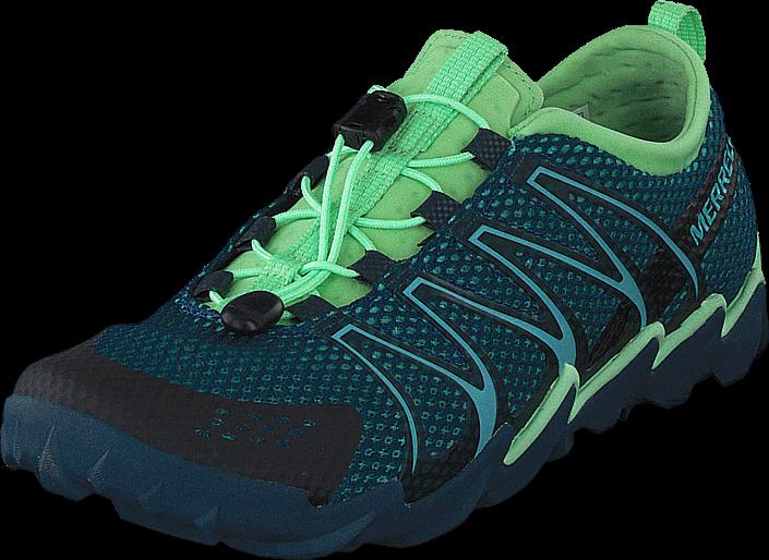 Footway SE - Merrell Tetrex Legion Blue, Skor, Sneakers & Sportskor, Walkingskor, Grön, Blå,  1197.00