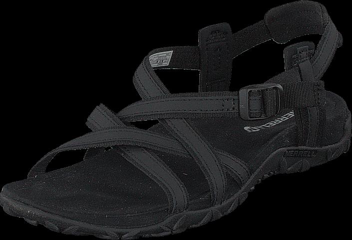 Footway SE - Merrell Terran Ari Lattice Black, Skor, Sandaler & Tofflor, Remsandaler, Svart,  847.00