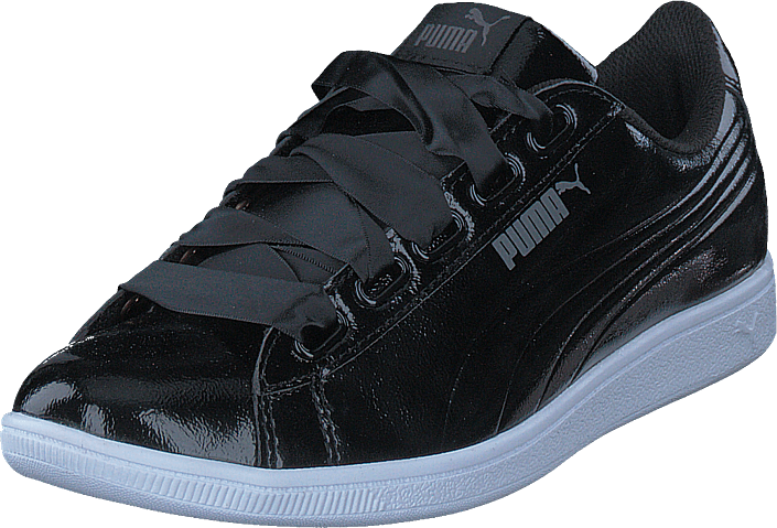 Puma Puma Vikky Ribbon P Puma Black-puma Black, Sko, Lave sko, Finsko, Grå, Dame, 36