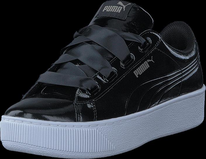 Puma Puma Vikky Platform Ribbon P Puma Black-puma Black
