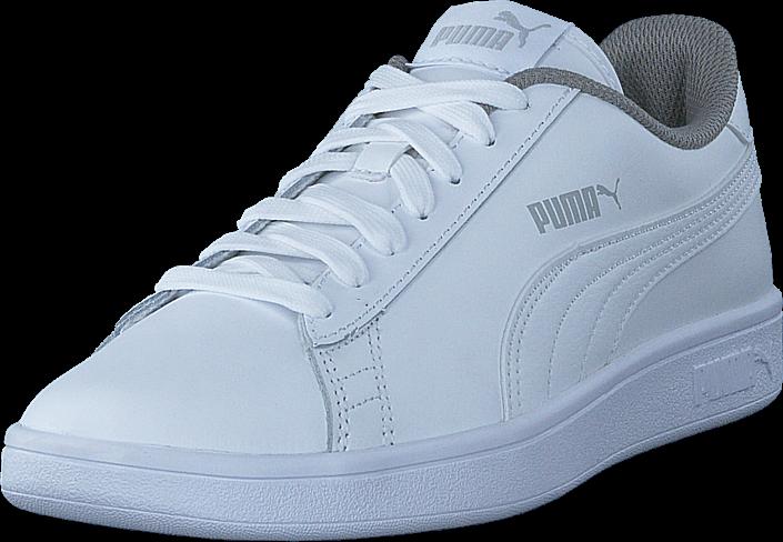 Footway SE - Puma Puma Smash V2 L Jr Puma White-puma White, Skor, Sneakers & Sportskor, Låga  487.00