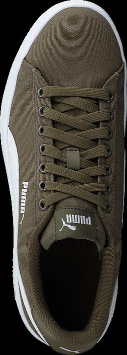Puma - Puma Smash V2 Cv Puma Olive-puma White