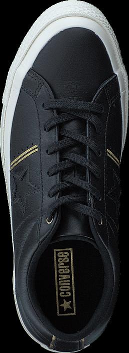 Converse One Star Black/gold/egret