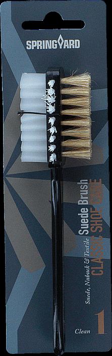 Springyard Suede Brush Suede/nubuck/textile