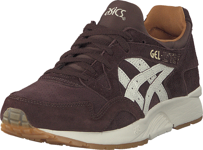 Asics Gel-lyte V Coffee/cream, Skor, Sneakers & Sportskor, Sneakers, Brun, Unisex, 36