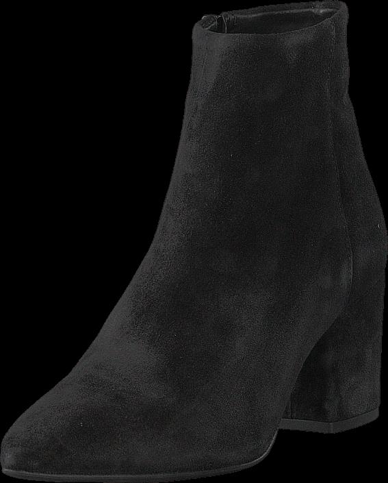 Footway SE - Vero Moda Vmastrid Leather Boot Black, Skor, Stövlar & Stövletter, Stövlett, Sva 947.00