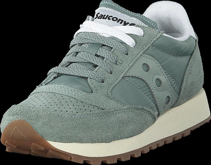 Saucony Jazz Original Vintage Slate Blue, Sko, Sneakers & Sportsko, Sneakers, Turkis, Grå, Dame, 38
