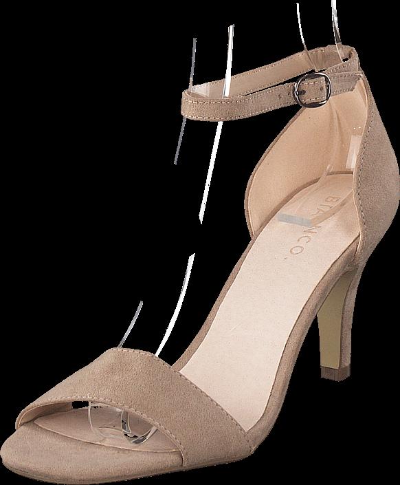 Bianco - Low Basic Sandal Noos Nougat
