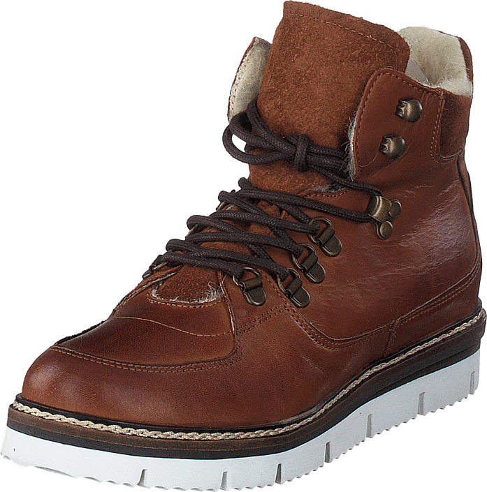 Bianco - Warm Hiking Boot Jas18 Cognac