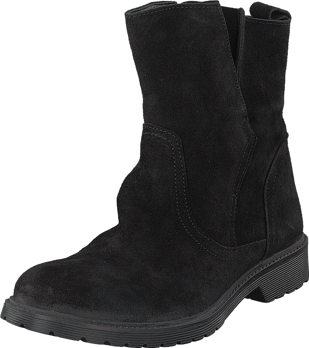 Buffalo 8036 Black, Sko, Boots, Høye boots, Svart, Dame, 36