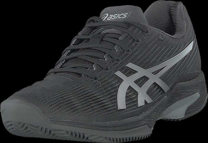 Asics Solution Speed Ff Clay Black/silver, Skor, Sneakers & Sportskor, Sneakers, Grå, Dam, 41