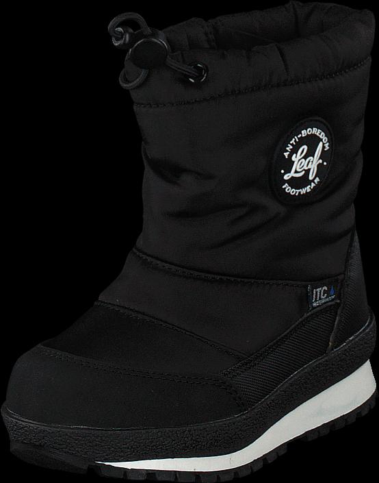 Leaf Ilsbo Black, Sko, Boots, Varmforet boots, Svart, Unisex, 22