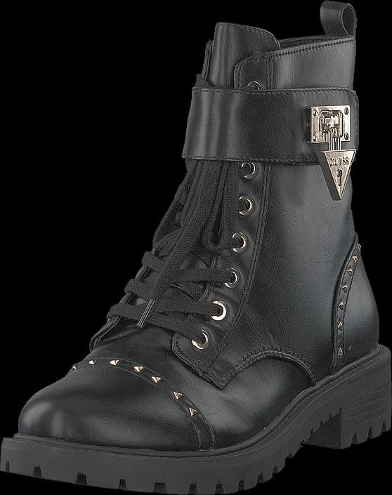 Guess Holde Black, Sko, Boots, Høye boots, Svart, Dame, 36
