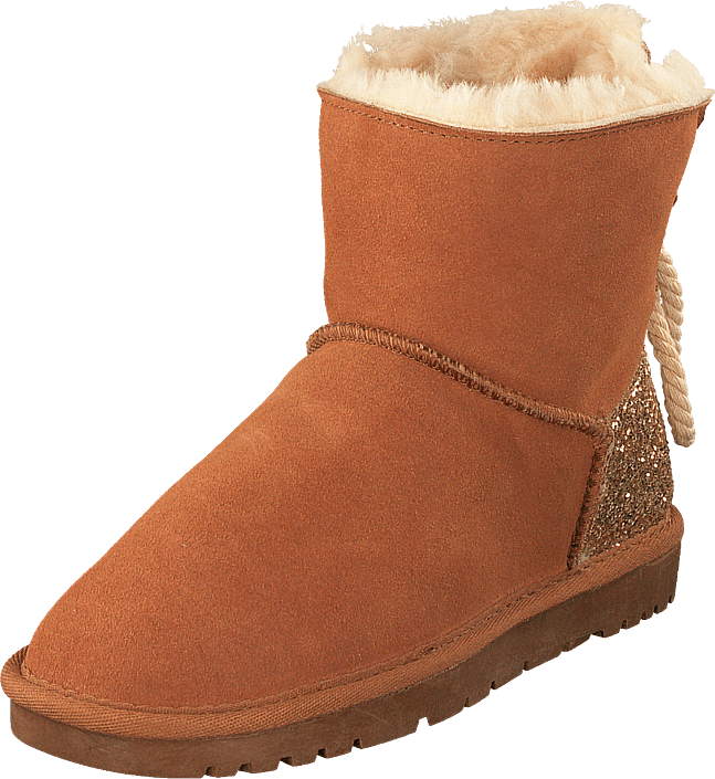 Footway SE - Petit by Sofie Schnoor Boots Teddy W. Glitter Tan, Skor, Kängor & Boots, Fårskin 597.00