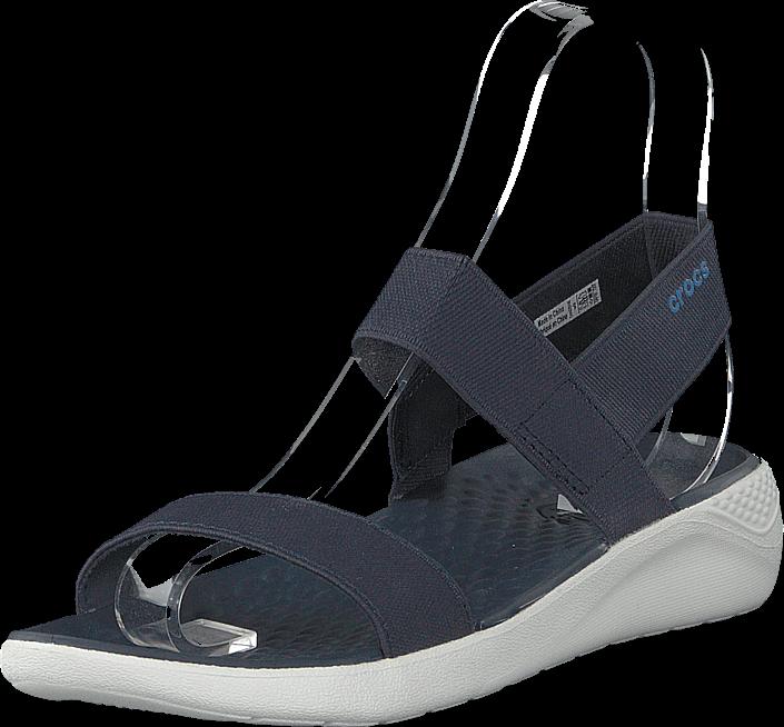Crocs - Literide Sandal Women Navy/white