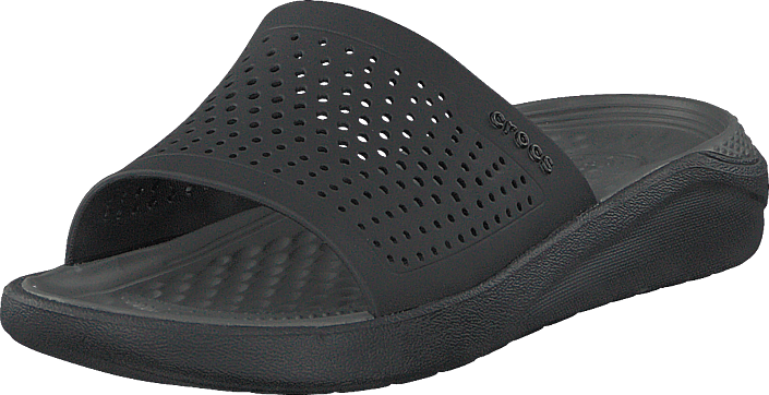 Crocs - Literide Slide Black/slate Grey