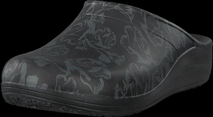 Footway SE - Crocs Sloane Graphic Clog Women Metallic Rose/black, Skor, Sandaler & Tofflor, T 387.00