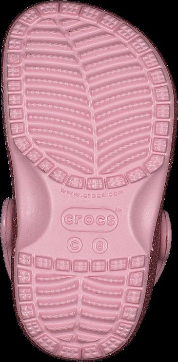 Crocs - Classic Glitter Clog Kids Blossom