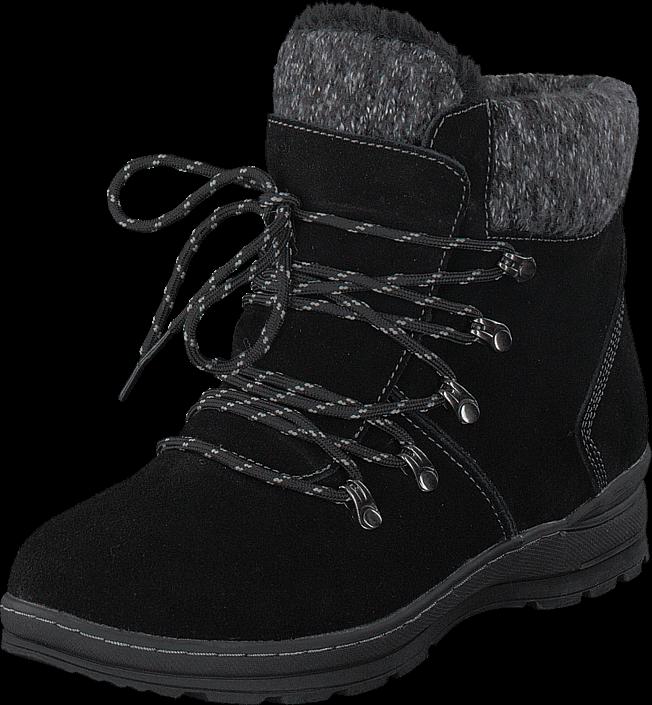 Wildflower Kari Black, Sko, Boots, Varmforet boots, Svart, Dame, 36