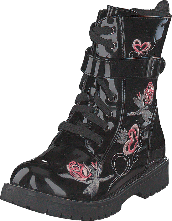 Wildflower Lid Black, Sko, Boots, Varmforet boots, Svart, Unisex, 25