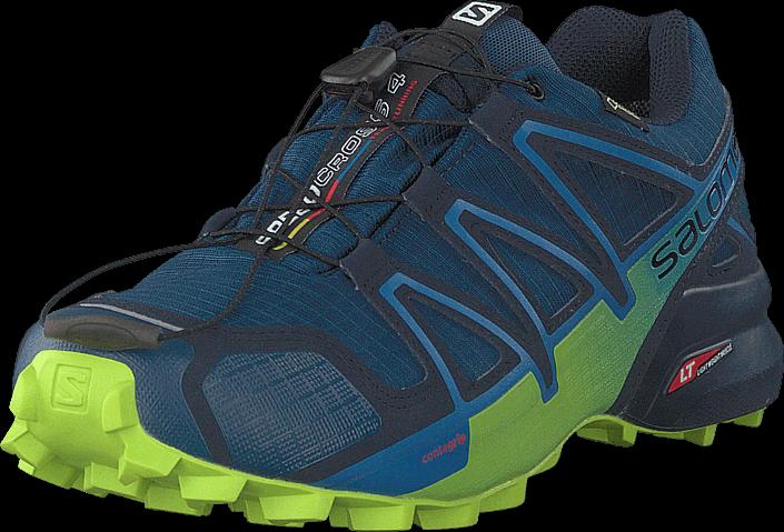 Footway SE - Salomon Speedcross 4 Gtx® Poseidon/navyblazer/limegreen, Skor, Sneakers & Sports 1647.00