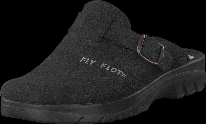 Footway SE - Fly Flot 484-2611 Black, Skor, Sandaler & Tofflor, Tofflor, Grå, Herr, 40 337.00
