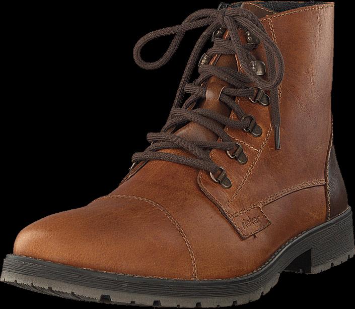 Rieker 33302-25 Marron, Sko, Boots, Kraftige støvler, Brun, Herre, 40